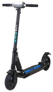 E-Scooter eFlux Lite 500 W Elektro Aluminium Faltbarer Elektroroller Tretroller (Schwarz/Blau)
