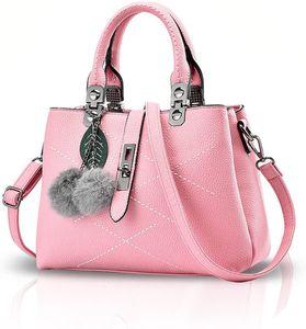 Damen weiblichen Beutel Handtaschen für Frauen Handtasche Rosa