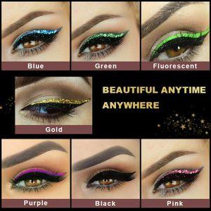 40 Stück Eyeliner-Aufkleber & 2 Paar Wimpernsets Set Falsche Wimpern Wiederverwendbar Augen Sticker Make-up Tools für Frauen