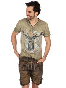 Lederhose kurz JAKOB old gespeckt natur Stockerpoint Lederhose kurz JAKOB old gespeckt natur, 52