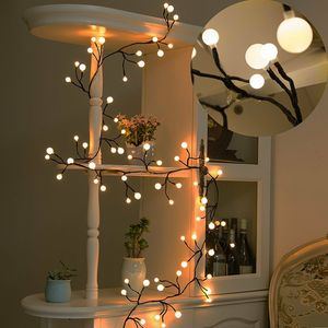 Decor Lights Fairy LED Globe Lichterketten 72 Glühbirnen für Bistro Cafe Party