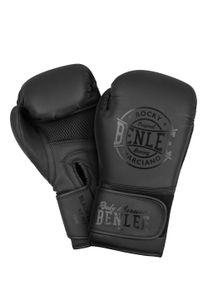 BENLEE Rocky Marciano Boxhandschuhe Herren Schwarz, Größe:14 oz