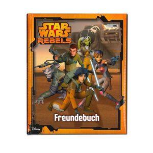 Star Wars Rebels Freundebuch Freundschaftsbuch Krieg der Sterne Jedi