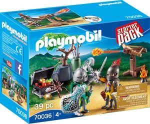 PLAYMOBIL StarterPack Kampf um den Ritterschatz, 70036