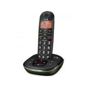 Doro Phone EASY 105WR DUO Strahlungsarmes Schnurlostelefon mit Anrufbeantworter, Rufnummernanzeige, 10h Sprechzeit, 4 Tage Standby, Freisprechfunktion, DECT