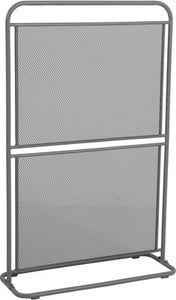 MWH Balcony Divido small Trennwand klein - Material: Metall, Farbe: Eisengrau, Maße: 80 cmx30 cmx124 cm; 879903