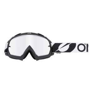 Oneal B-10 Twoface Silver Mirror Motocross Brille