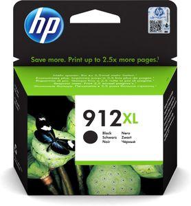 HP 912, Original, Tinte auf Pigmentbasis, Schwarz, HP, HP OfficeJet 8012, 8013, 8014, 8015, 8017, 8022 / HP OfficeJet Pro 8020, 8022, 8023, 8024, 8025,..., 1 Stück(e)