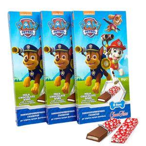 Paw Patrol Milch-Schokolade 3 x 80g