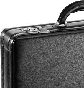 D&N Tradition Business Aktenkoffer genarbtes Vollrindleder 45 cm mit Lederinnenfutter