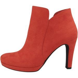 Tamaris Damen Stiefeletten High-Heel Plateau 1-25316-26, Größe:40 EU, Farbe:Rot