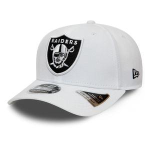 New Era 9FIFTY Stretch Snapback Oakland Raiders white M/L