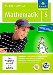 Alfons Lernwelt Lernsoftware Mathematik 5. DVD-ROM