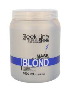 STAPIZ Sleek Line Maske mit Seide Blond 1000 ml