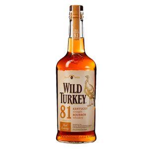 Wild Turkey 81 Proof Kentucky Straight Bourbon Whiskey | 40,5 % vol | 0,7 l