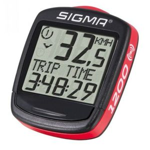 Sigma Baseline Bc1200wl Black / Red One Size