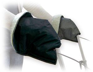 Rollatorhandschuhe - Handschuhe für Rollstuhl oder Rollator, gefüttert