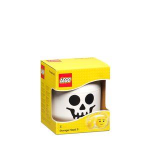 LEGO Aufbewahrungs Kopf Skelett klein