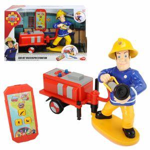 Dickie Feuerwehrmann Sam mit Wasserspritzfunktion