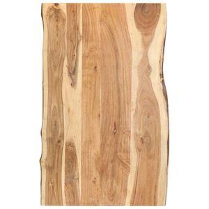 Tischplatte Massivholz Akazie 100 x 60 x 3,8 cm