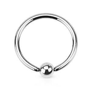 Klemmring BCR Septum Piercing Captive Ring Lippe Ohr Augenbrauen Nase Brustwarze  1,6 mm 8 mm