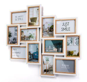 Bilderrahmen Bilderhalter Collage BIG für 12 Bilder