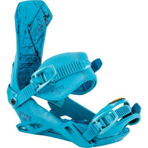 Nitro Team Snowboard Bindung Farbe: Blue, Schuh Größe: M