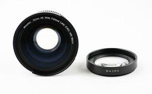 Minadax 0.42x Fisheye Vorsatz kompatibel mit Canon Powershot S1 IS