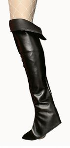 K84250696/T2803 schwarz Damen Stulpen Stiefelstulpen