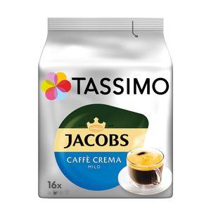 Tassimo Jacobs Caffè Crema mild | 16 T Discs, Kaffeekapseln