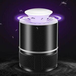 Moskito Killer Insektenvernichter 5W Elektrisch LED Insektenlampe Mückenfalle Elektronischer Insektenvernichter Fliegenfalle Insektenschutz Mückenschutz Schwarz
