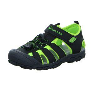 Sneakers Kinder Sandale Schwarz