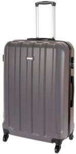 Cahoon – Hartschalen-Koffer Trolley 4-Rollen Reisekoffer / XL 102 Liter / Farbe: anthrazit