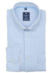 Redmond - Regular Fit - Herren Langarm Hemd mit Button Down Kragen (201055111), Größe:XL, Farbe:Blau(10)