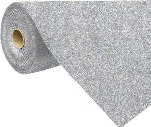 Rasenteppich Kunstrasen mit Noppen (1.550 g/m²), Farbe:Grau-Blau, Größe:400 x 300 cm