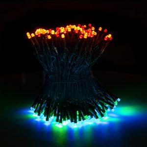 SnowEra 200er LED Lichterkette, Weihnachtsbeleuchtung innen, außen mit zuschaltbarem Timer, Weihnachtsbaum,Tannenbaum, Lichtfarbe: bunt – Länge: ca. 30 m inkl. Zuleitung