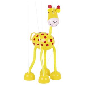 Goki - Marionette Giraffe aus Holz