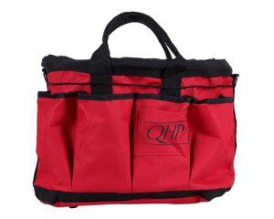 Putztasche Putzbox Pferdeputztasche zweifarbig QHP ARBO-INOX® Farbe - Rosa/grau