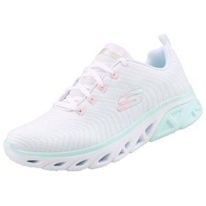 Skechers Damen Sneaker GLIDE STEP SPORT WAVE RUNNER Weiß/Türkis, Schuhgröße:EUR 39