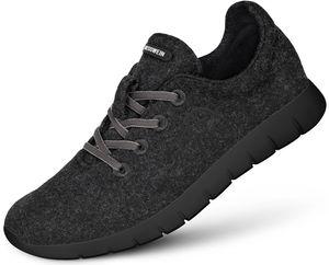 Giesswein Merino Wool Runners Herren anthrazit Schuhgröße EU 45