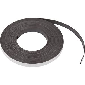 Creative selbstklebendes Magnetband 12,5 mm / 1,5 mm schwarz 1 Meter