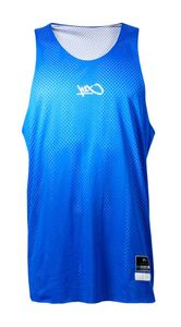 K1X Reversible Practice Basketball Jersey, Farbe:Blau / Weiß, Kleidergröße:XL