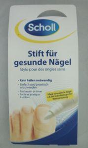 Scholl Stift für gesunde Nägel, pflegt strapazierte Fuß-Nägel 1 x 5ml