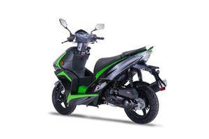 Motorroller Siegfried 50ccm 45km/h schwarz-grün
