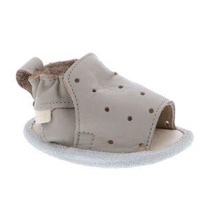 Boumy Unisex Baby-Schühchen in der Farbe Grau - Größe 17-18
