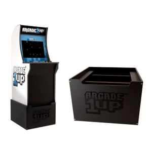 Arcade1Up Riser, Upright arcade cabinet, Riser, Junge/Mädchen, Schwarz, Blau, Weiß, 584,2 mm, 76,2 mm