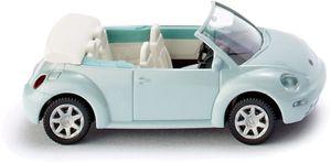 WIKING miniatur VW New Beetle Cabriolet Zinkdruckguss 1:87 blau