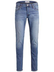 Herren JACK & JONES Slim Fit Jeans GLENN Skinny Tapered JJI GLENN ORIGINAL AM, Farben:Blau, Größe Jeans:36W / 30L