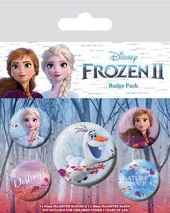 Disney Frozen / Eiskönigin 2 - 5 Anstecknadeln / Buttons