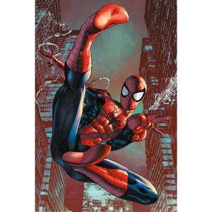 Spider-Man - Poster Web Sling TA7651 (Einheitsgröße) (Rot/Blau)